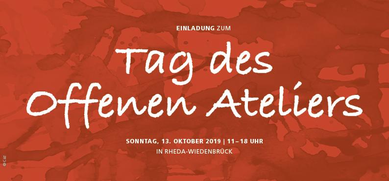 offene Ateliers Rheda-Wiedenbrück Oktober 2019